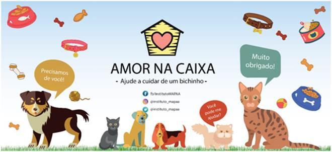 ONG MAPAA lança campanha 'Amor na Caixa', em SP