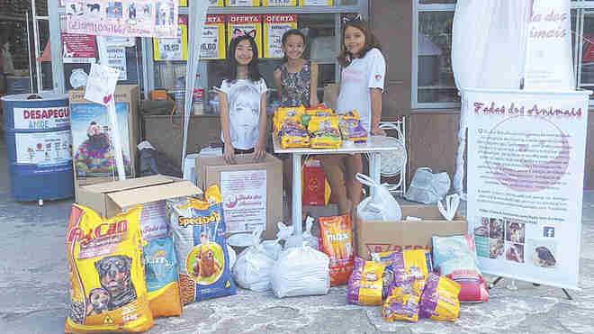 Meninas de Sorocaba (SP) criam grupo para ajudar animais