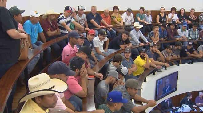 Polêmica sobre os rodeios em Marília chegou à Câmara de Vereadores (foto) e aos tribunais (Foto: Reprodução/TV TEM)