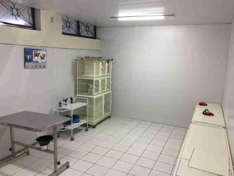 Novo hospital veterinário conta com salas cirúrgicas, sala exames de Raio-X e laboratório (Foto: Unipac/Divulgação)