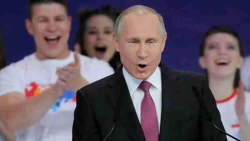 O presidente russo, Vladimir Putin. EFE