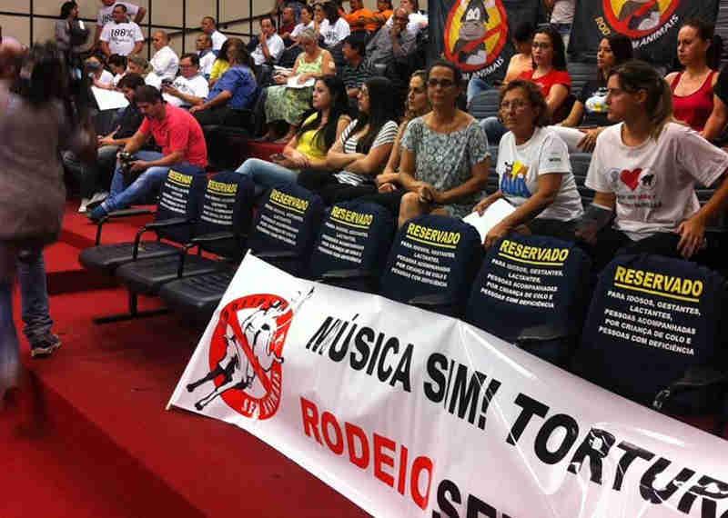 Movimento em defesa dos animais reúne assinaturas para petição desde 2011 (Foto: Guto Silveira/Arnaldo Alves/SECS)