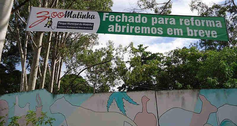 Atirador invade zoo interditado e mata animais na Bahia