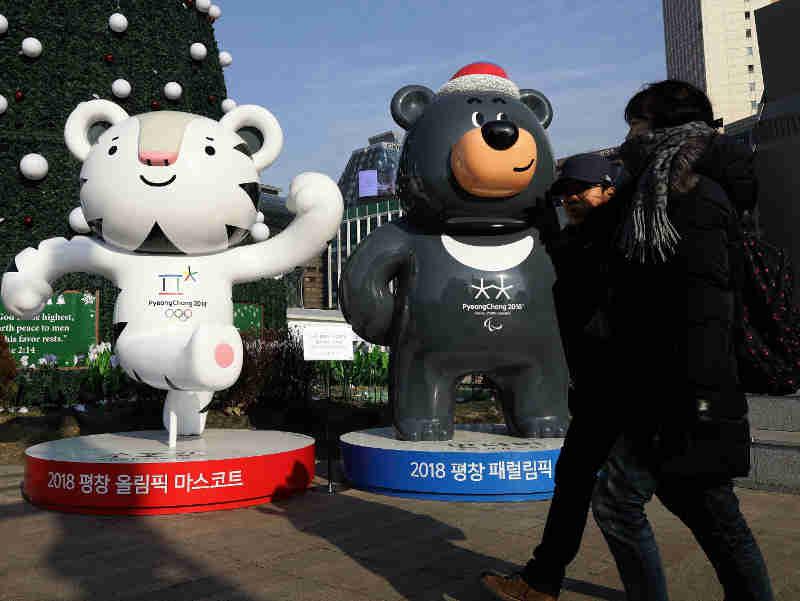 A fofa mascote olímpica chama atenção para as controversas fazendas de ursos na Coreia do Sul