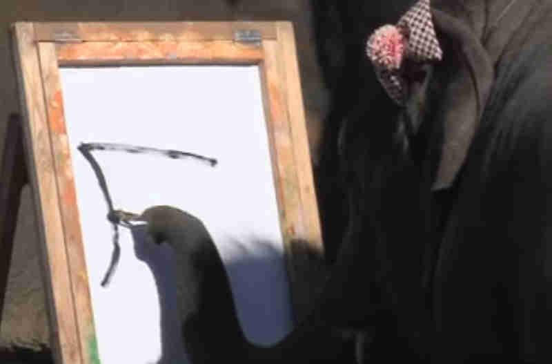 Porque este vídeo de elefantes pintando imagens de cachorros não é nada fofo