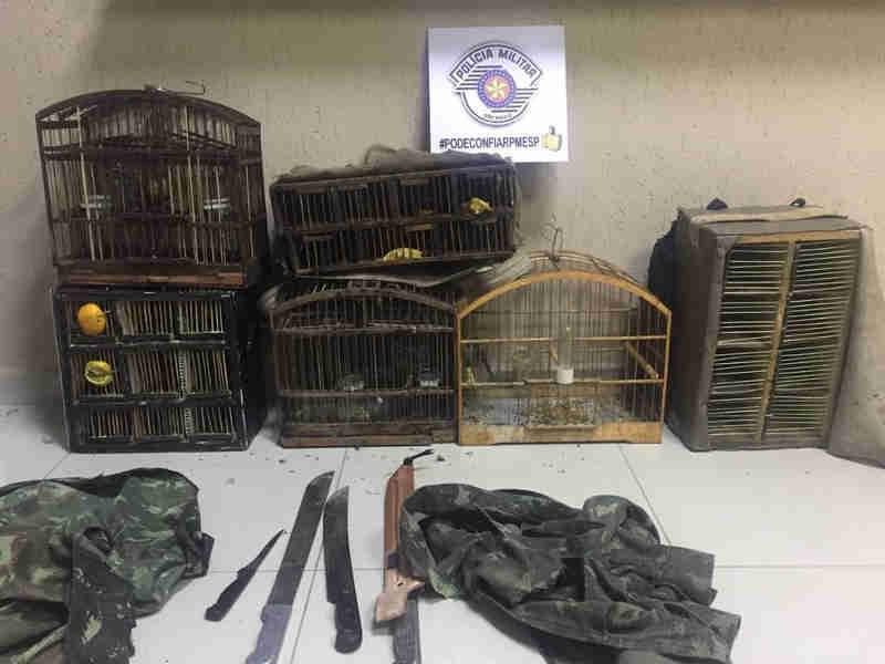 Trio é preso por caça de 17 animais silvestres na Serra da Bocaina, em Bananal, SP