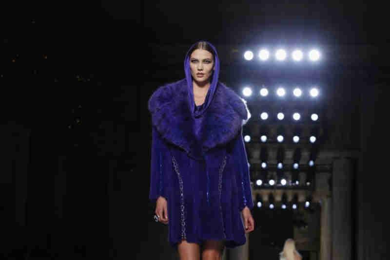 'Não quero matar animais para fazer moda', diz Donatella Versace