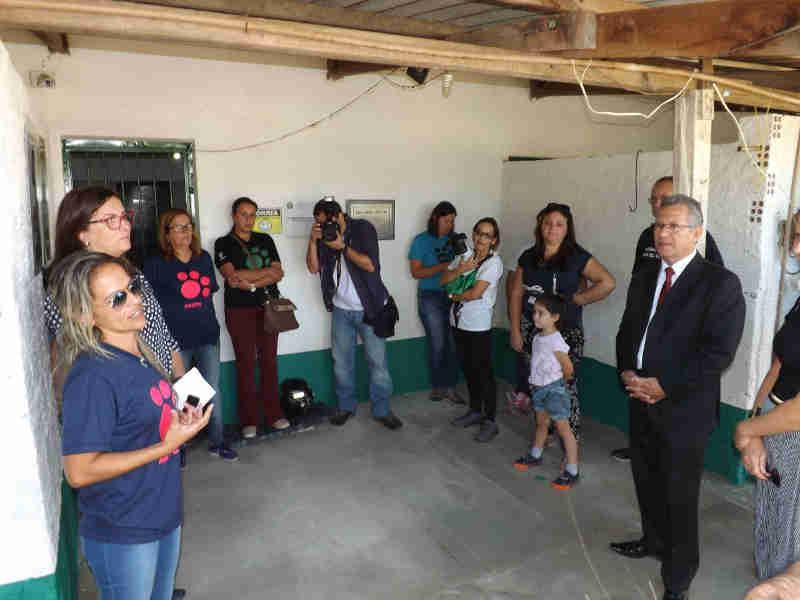 ONG inaugura estrutura reformada do Centro de Atenção aos Animais de Rua em Bagé, RS