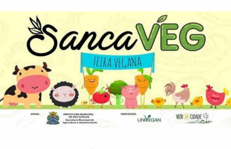 Primeira feira vegana de São Carlos (SP) acontece neste final de semana