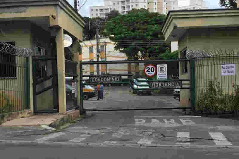 O condomínio manifestou solidariedade aos moradores. - Foto: Wallace Graciano