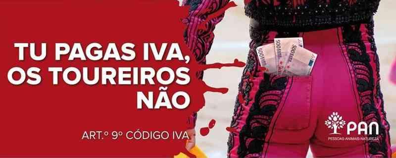 Portugal: PAN lança campanha para dar 'estocada' na isenção de IVA aos toureiros