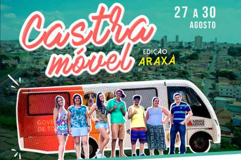 Araxá (MG) recebe Castramóvel no final de agosto