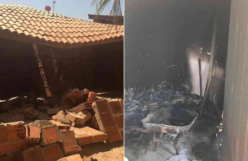 Futura sede de abrigo de animais no Eusébio (CE) é destruída em atentado às instalações