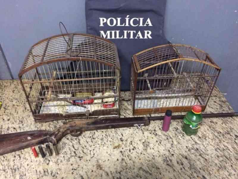 PM detém acusado de tráfico de animais em Vargem Alta, ES