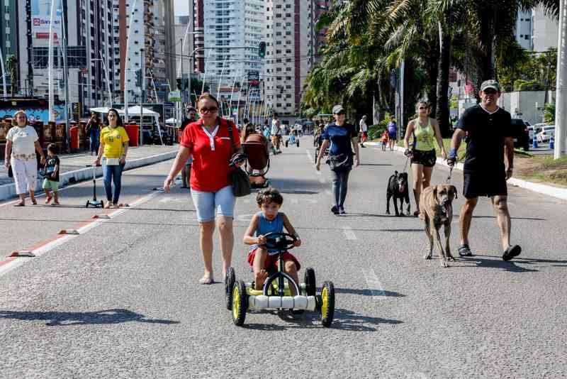 Projeto 'Rua de Todos', na Doca, ganha mais atrações neste domingo (2), em Belém. (Foto: João Gomes / COMUS)
