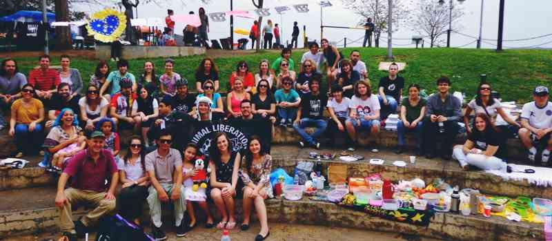 Porto Alegre sedia mais um Acampamento Vegano amanhã, Dia da Revolução Farroupilha