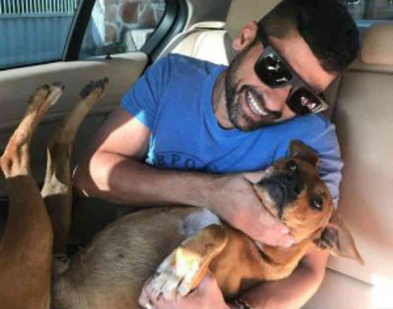 Bom exemplo: dono de restaurante adota cães de rua na Serra