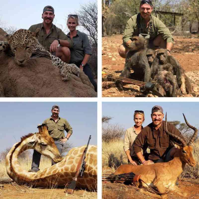 Policial ambiental dos EUA se demite após fotos de animais caçados na África