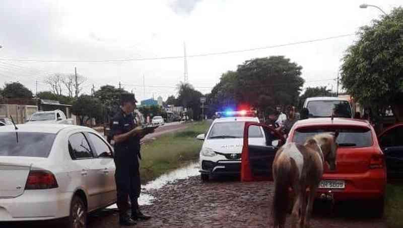 Brasileiros são presos no Paraguai por maus-tratos a um cavalo