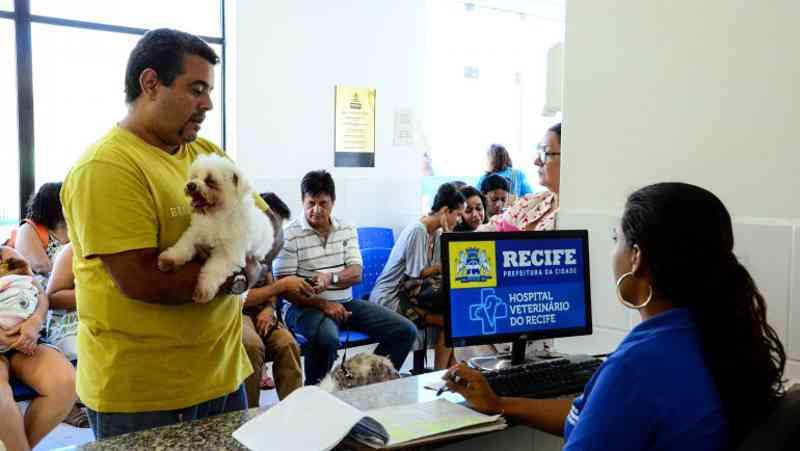 Hospital Veterinário do Recife inicia agendamento para castrações
