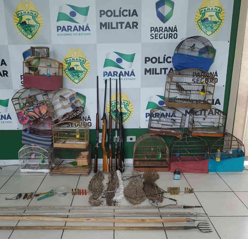 Polícia Ambiental prende acusados de caça ilegal em Guaraqueçaba, PR