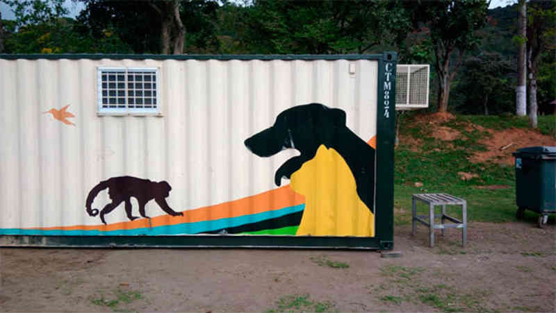 Começa montagem de espaço onde serão feitas 600 castrações no Parque Municipal de Itaipava, em Petrópolis, RJ