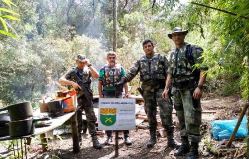 Polícia ambiental faz operação contra caça ilegal de animais em SC