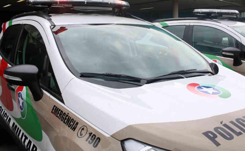 Mulher deixa cão trancado dentro de carro em Guaramirim, SC