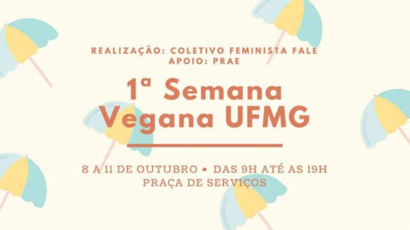 UFMG terá semana vegana entre os dias 8 e 11 de outubro