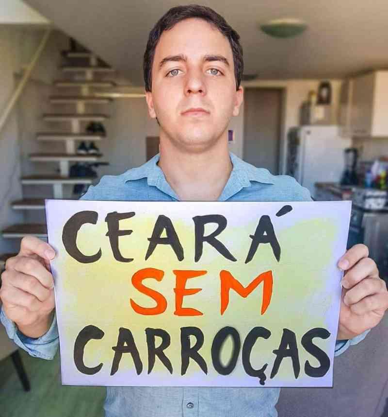 Movimento São Francisco realiza manifestação pelo fim da tração animal no Ceará