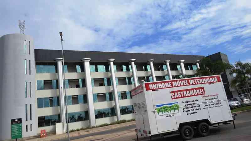 'Castramóvel' depende de licença ambiental para começar a ser usado em atendimentos em Divinópolis — Foto: Prefeitura de Divinópolis/Divulgação