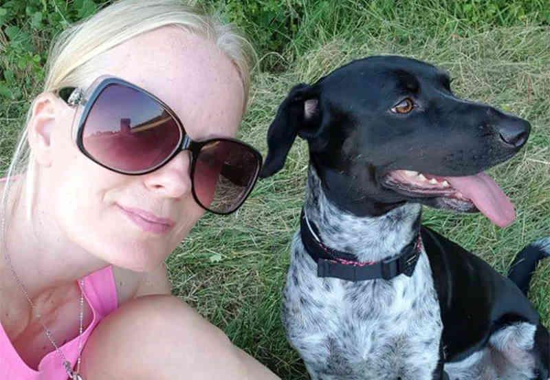 Cadelinha que foi arrastada por taxista há um ano no México agora vive feliz na Suíça