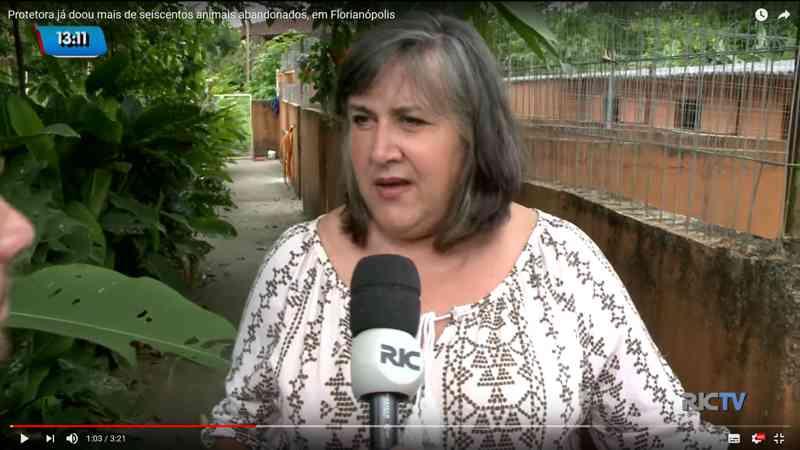 Matéria no Olhar Animal repercute e perseguições a protetora em SC são tema de reportagem na TV