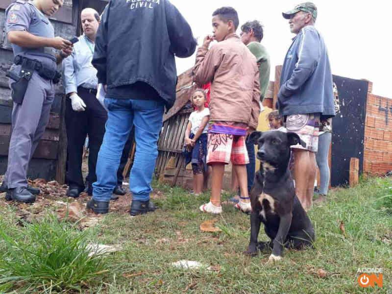 Cão faz vigília em favela onde a tutora de 44 anos foi achada morta, em Ribeirão Preto, SP