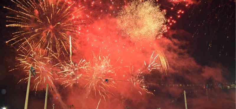 Após pedidos, prefeitura de Rio Branco reduz em 30% barulho de fogos de artifício durante réveillon — Foto: Caio Fulgêncio/G1