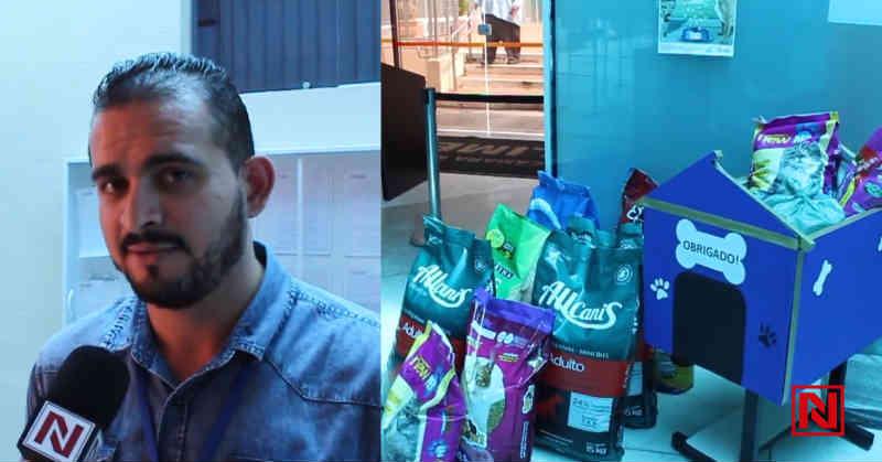 Câmara Municipal realiza campanha para arrecadação de ração em prol dos animais de Limeira, SP