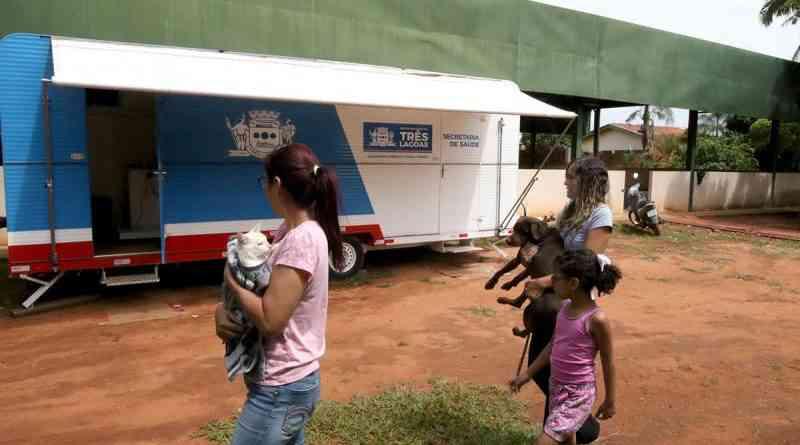 Castramóvel deverá permanecer no Centro de Convivência Tia Nega, em Três Lagoas (MS), até 07 de dezembro