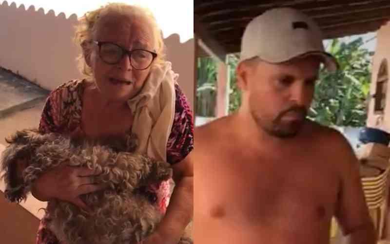 VÍDEO: cadela é espancada até a morte na frente da família no RJ