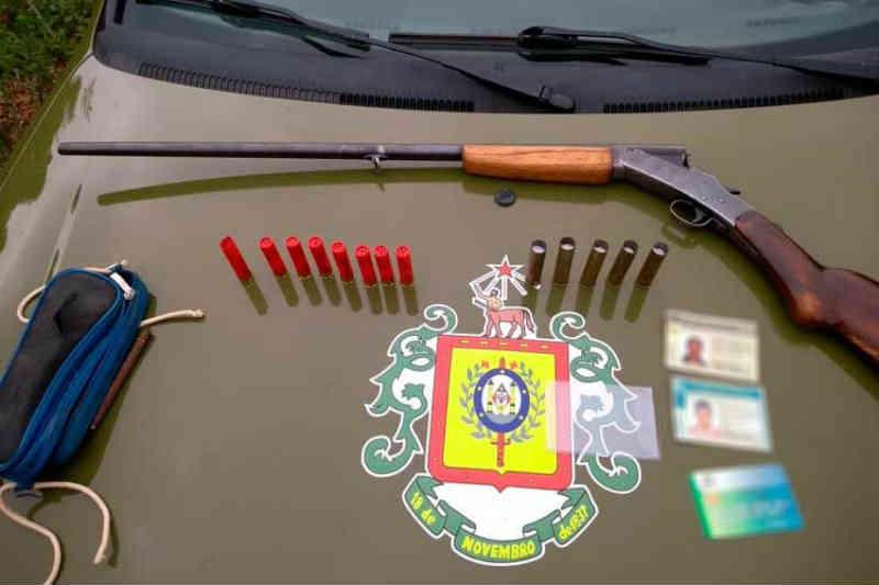 Brigada Militar apreende arma de caçadores em Mato Leitão, RS