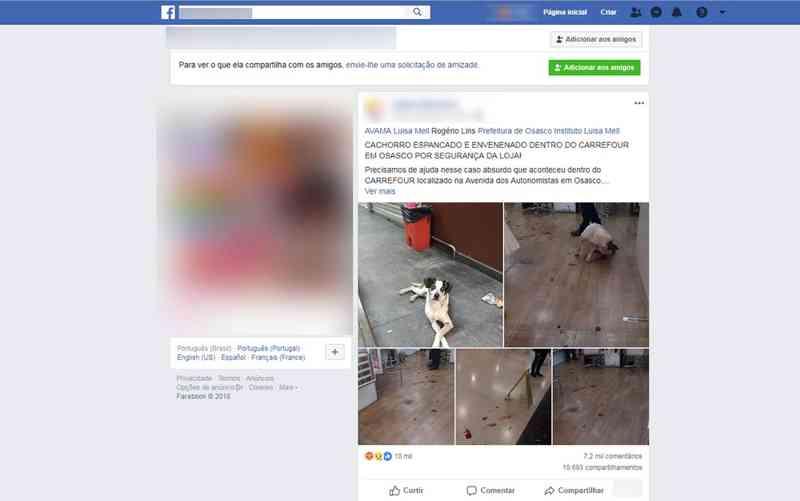 Polícia de SP deve concluir nesta semana inquérito sobre cachorro morto após agressão no Carrefour