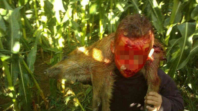 """O Partido Animalista Contra el Maltrato Animal (PACMA) denuncia a participação de menores de 14 anos em caças privadas e """"batizados"""" na Espanha."""