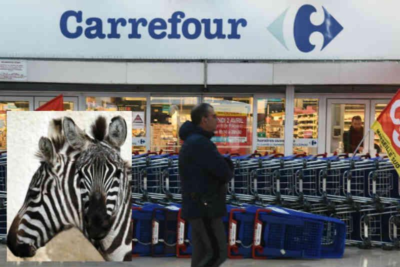Carrefour é criticado por vender carne de zebra