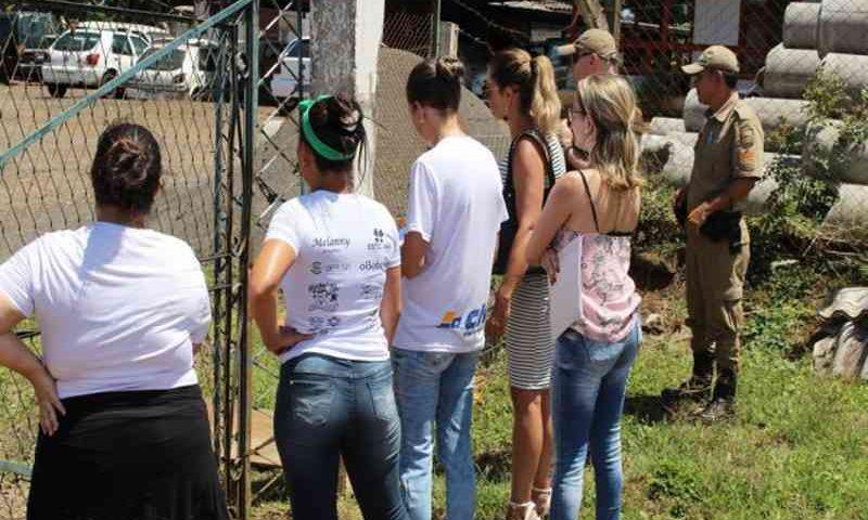 Cadela é estuprada por detento dentro do parque de máquinas de Joaçaba, SC