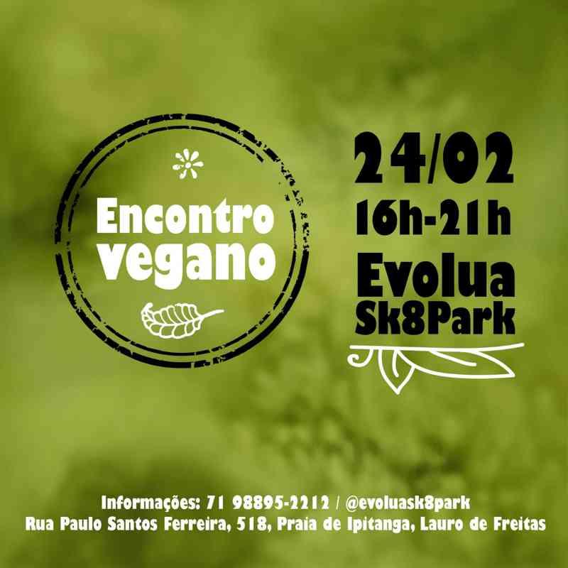 Encontro Vegano em Lauro de Freitas (BA) no próximo dia 24
