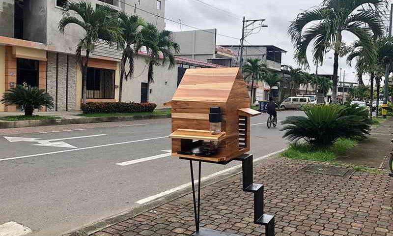 As casas para animais de rua foram projetadas por um escritório de arquitetura do Equador - Crédito: Reprodução/Natura Futura Arquitectura
