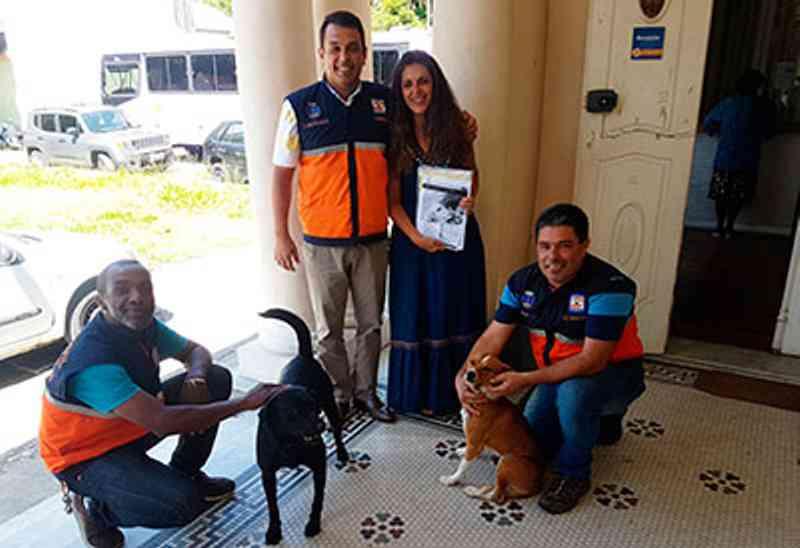 Defesa Civil nas Escolas vai tratar de Bem-estar Animal em sala de aula em Petrópolis, RJ