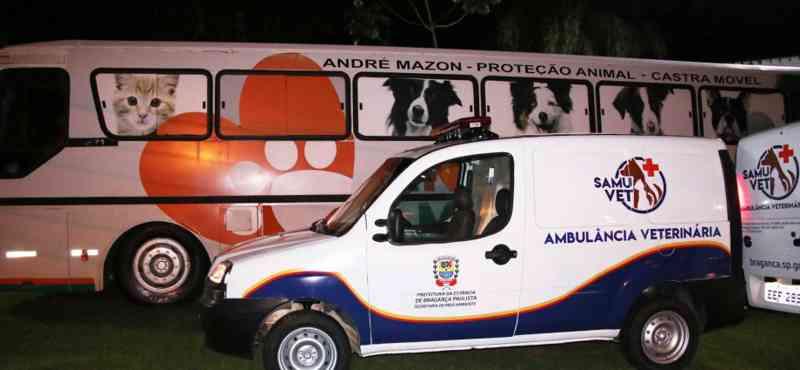 SAMUVET e Castramóvel são implantados em Bragança Paulista, SP