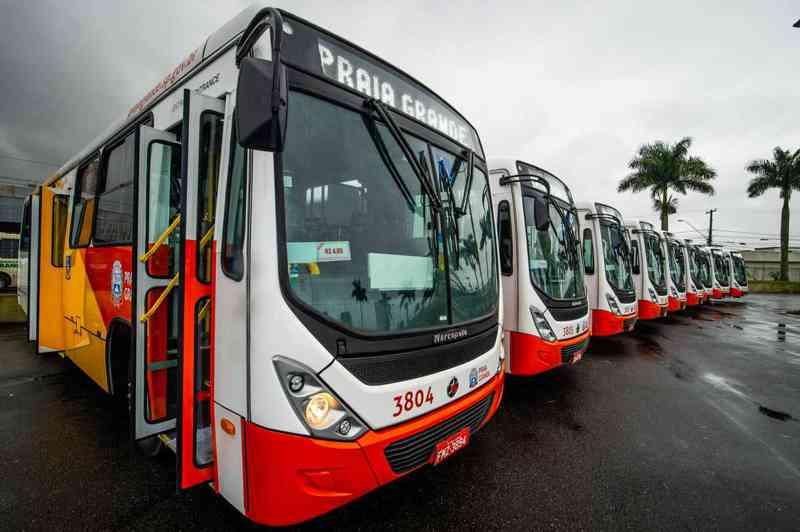 Cadastro de animais domésticos para transporte em ônibus de Praia Grande (SP) é feito na Setransp