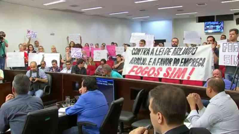 Vereadores aprovam projeto de lei que proíbe queima de fogos de artifício com barulho em Araçatuba, SP