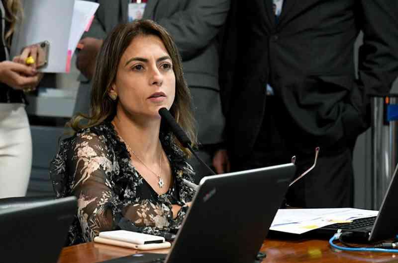 A senadora Soraya Thronicle (PSL-MS) apresentou relatório favorável à proposta.Roque de Sá/Agência Senado